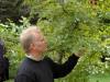 Aubrey Fennel identifying tree