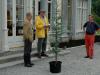 Presentation of cedar to Philip Wingfield at Salterbridge