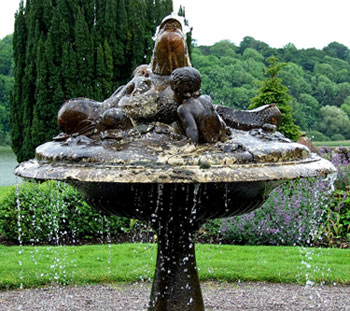 Fountain, Castle Leslie